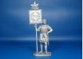 Римский знаменосец, I-II века н.э. Оловянная миниатюра