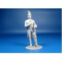 Бригадир 12-го полка французских драгун, 1808 год, оловянная миниатюра