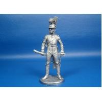 Португальский кавалерист 1806-1810 года, оловянная миниатюра