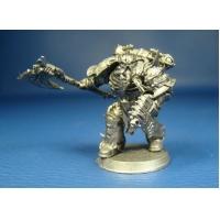 Избранный Хаоса с силовым топором оловянная миниатюра из Warhammer