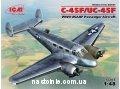 Пассажирский самолет  C 45F UC 45F  ВВС США ІІ МВ