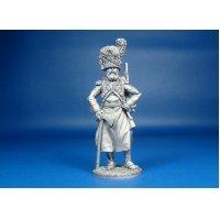 Французский сапёр пеших гренадер Имперской Гвардии, 1808-1812 года