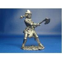 Германский рыцарь, XIV век оловянная миниатюра