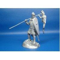 Нормандский рыцарь, оловянная миниатюра
