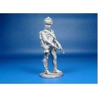 Российский Канонир (3 номер) армейской пешей артиллерии, 1809-1814 года, оловянная миниатюра