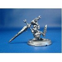 Рыцарь ворона оловянная миниатюра