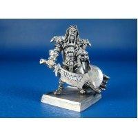 Военачальник наемников Орба Синьхан оловянная миниатюра