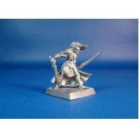 Эльф принц Данитал оловянная миниатюра для игры Pathfinder и Dungeons & Dragons
