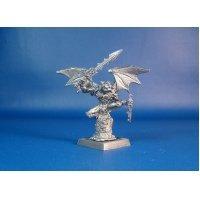 Горгулья из Некрополя оловянная миниатюра для игры Pathfinder и Dungeons & Dragons