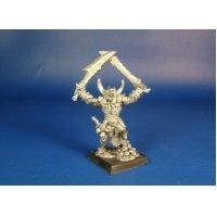 Орк Турог победитель оловянная миниатюра