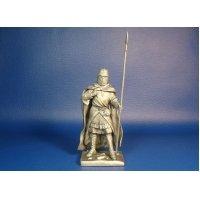 «Рыцарь ордена тамплиеров, XII-XIII век» оловянная миниатюра