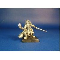 Воин чародей Стрэч оловянная миниатюра