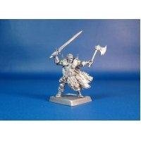 Воин наемник Борис Мингла оловянная миниатюра для игры Pathfinder и Dungeons & Dragons