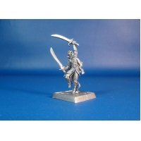 Воительница Ми-Шер оловянная миниатюра для игры Pathfinder и Dungeons & Dragons