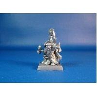 Жрец дварф Ивар оловянная миниатюра для игры Pathfinder и Dungeons & Dragons