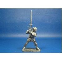 Рыцарь с двуручным мечом, XV век