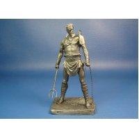 Римский гладиатор «Ретиарий» оловянная миниатюра