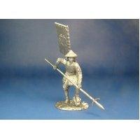 Японский Асигару 1500-1600 года оловянная миниатюра