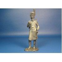 Французский сапер гвардейских драгун оловянная миниатюра