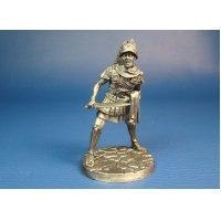 Римский Трибун в битве при Тразименском озере 217 год до н.э. Оловянная миниатюра