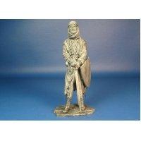 Воин-монах. Битва при Мансуре 1250 год. Оловянная миниатюра