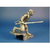 Японский воин ниндзя убийца оловянная миниатюра