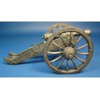6-фунтовая пушка системы XI года, Франция 1803-1815 года