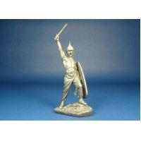 Кельтский воин, I век н.э. Оловянная миниатюра