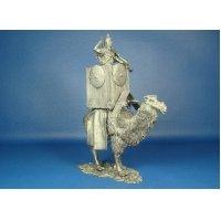 Лучник на боевом верблюде, II век оловянная миниатюра