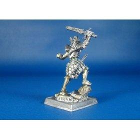 Черный принц оловянная миниатюра