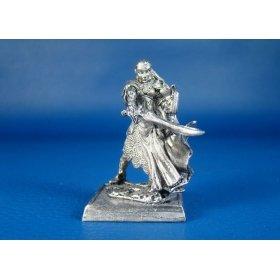 Эльфийка Лорин Штормовой клинок оловянная миниатюра