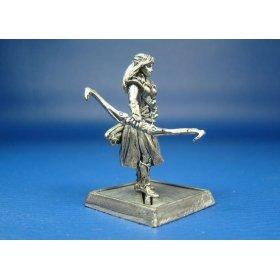 Лориэль эльфийская лучница оловянная миниатюра