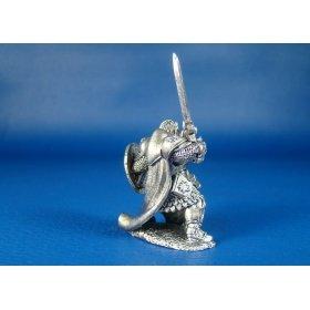 Паладин Ансель оловянная миниатюра