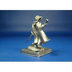 Шаэлин, женщина-бард оловянная миниатюра
