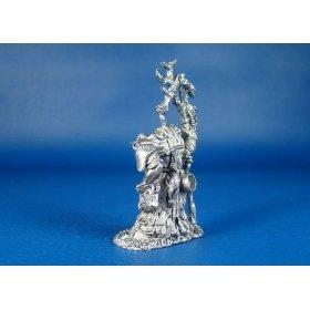 Шаман орков Суркар оловянная миниатюра