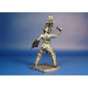Гладиатор фракиец оловянная миниатюра