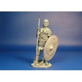 Кавалерист вспомогательных войск Римской империи, II век н.э. Оловянная миниатюра