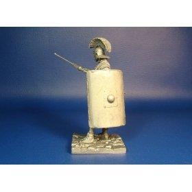 Легионер, II Неустрашимый Траянов легион, I век н.э. Оловянная миниатюра