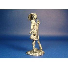 Оцеола, вождь Семинолов оловянная миниатюра