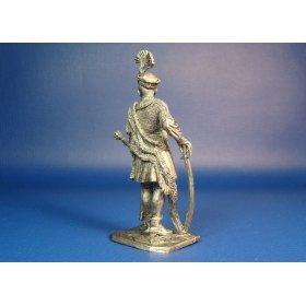 Ротмистр гусарской хоругви. Речь Посполитая, начало XVII века оловянная миниатюра