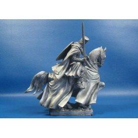 Конный Рыцарь тамплиер в бою на Святой земле, XIII век