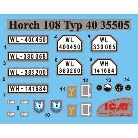Германский армейский автомобиль Horch 108 Typ 40 8