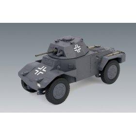 Немецкий бронеавтомобиль Panzerspahwagen P 204 6