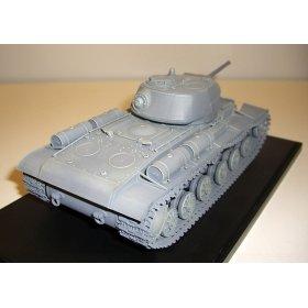 Советский скоростной тяжёлый танк КВ 1С 3