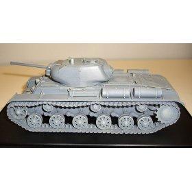 Советский скоростной тяжёлый танк КВ 1С 4