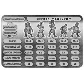 Набор солдатиков Легион Сатурн