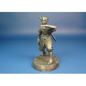 Ниндзя  XV век оловянная миниатюра