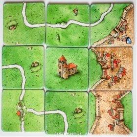 «Каркассон» настольная игра